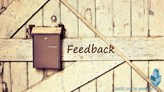 mailbox voor feedback of recensie